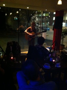 Sam Dale at Cafe Portico