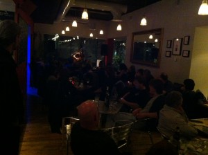 Sam Dale Gig at Cafe Portico